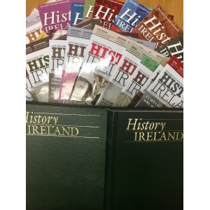 History Ireland  : ALL FOUR YEARS FROM 2013 to 2016 includive  in 2 binders Only 3 complete sets left DELIVERY FREE