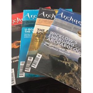 Archaeology Ireland back issues -the 4 issues of 2009 -Free Delivery Worldwide
