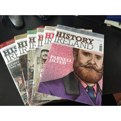 History Ireland Bundle - The 6 issues 2015 to Ireland and N. Ireland