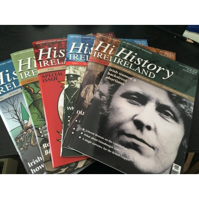 History Ireland Bundle - The 6 issues 2013 to Ireland and N. Ireland