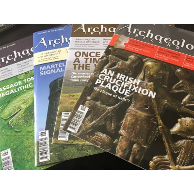 Archaeology Ireland back issues -the 4 issues of 2012 - to Ireland / N. Ireland