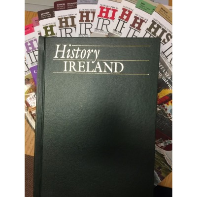 History Ireland  : THE ISSUE OF 2016 AND 2015 COMPLETE IN A BINDER (5 ONLY)