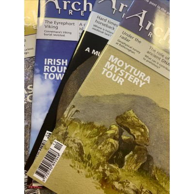 Archaeology Ireland back issues -the 4 issues of  2020