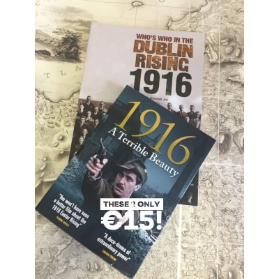 BUY Who's Who in the Dublin Rising 1916 & receive DVD A Terrible Beauty FREE