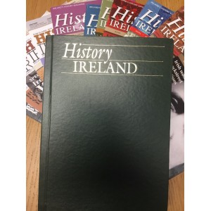 History Ireland  : THE ISSUE OF 2013 AND 2014 COMPLETE IN A BINDER (5 ONLY)