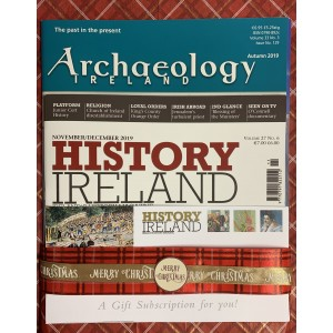 3. History Ireland & Archaeology ONE YEAR Combination