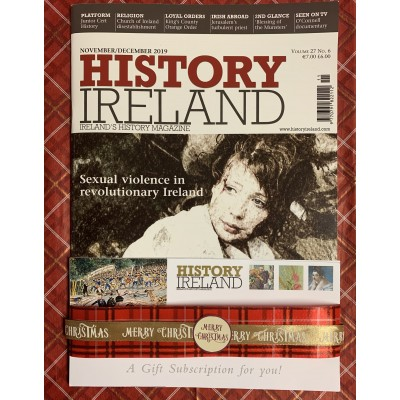 1. History Ireland: 1 year Gift subscription posted to Ireland and Northern Ireland
