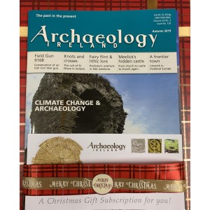 2. Archaeology Ireland:1 year GIFT subscription posted to Ireland and Northern Ireland