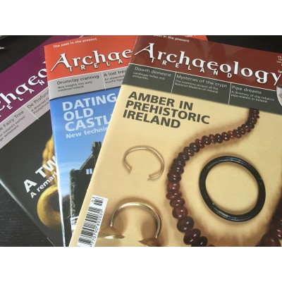 Archaeology Ireland back issues -the 4 issues of 2013 - to Ireland / N. Ireland
