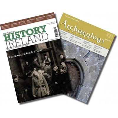 History Ireland & Archaeology Ireland combination - 1 year subscription to both