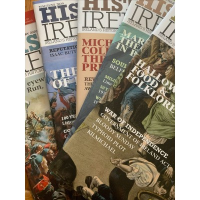 History Ireland 6 Back issues from 2020